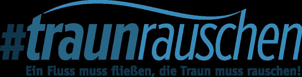Traunrauschen Logo farbe